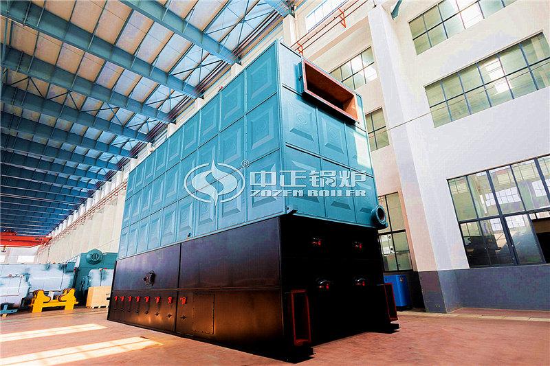 白山锅炉厂家1800万大卡生物质颗粒导热油锅炉