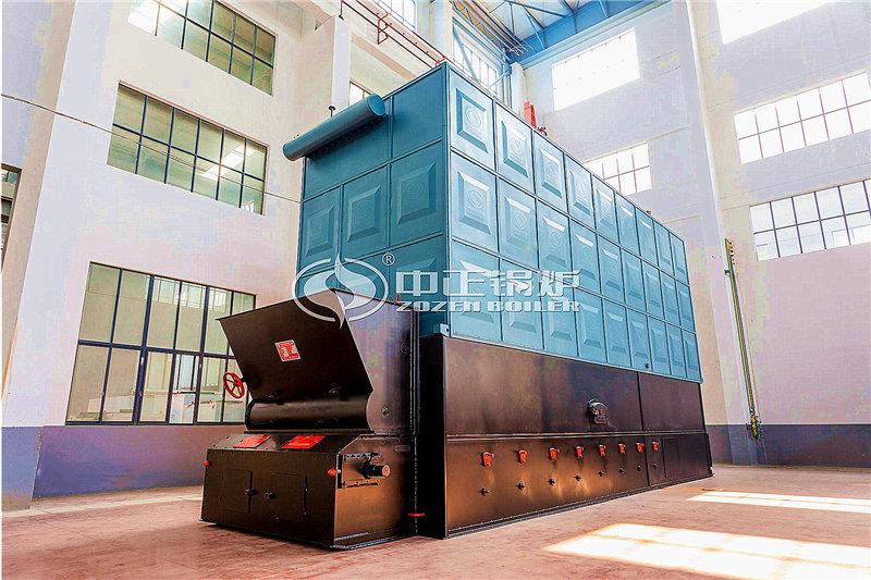 宁波锅炉厂家400万大卡天然气导热油锅炉