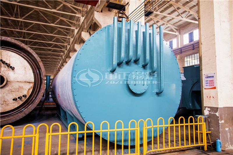 海南藏族自治州锅炉厂家600万大卡燃气导热油锅炉