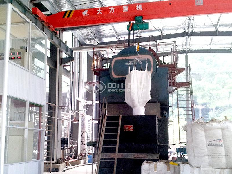 SZL10-2.45-M生物燃料蒸汽锅炉