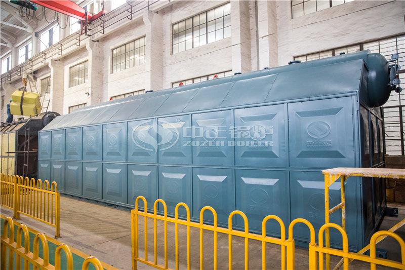 QXX58-1.25/130/70-AⅡ全自动生物质卧式蒸汽锅炉厂家