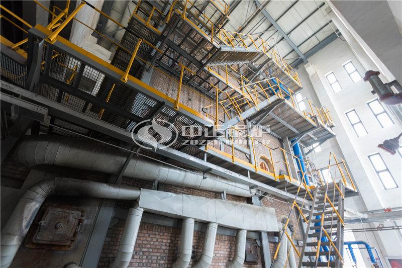 印染行业50吨卧式节能环保燃煤锅炉