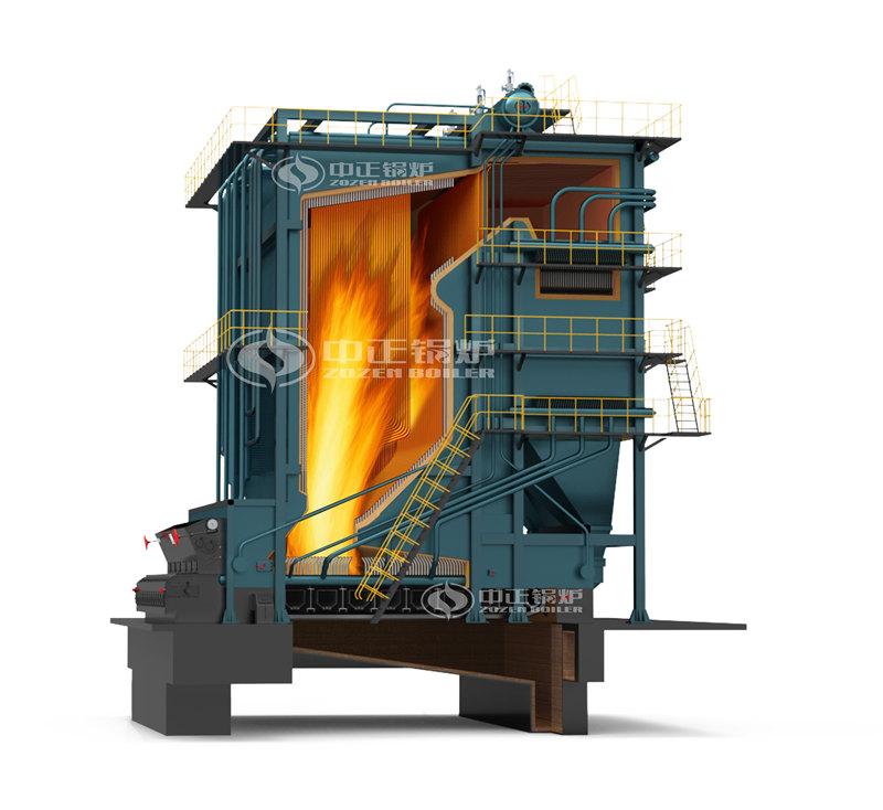 锅炉厂家SZL7.0-1.25/130/70-M生物质循环流化床锅炉